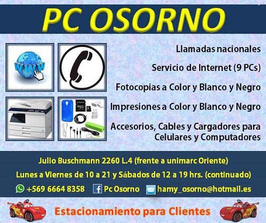 Ciber en osorno pc osorno for Viveros en osorno