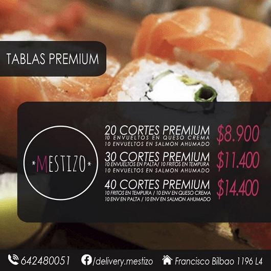 Osorno delivery de sushi mestizo for Viveros en osorno